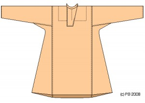Byzantine Shirt from Turkish grave site