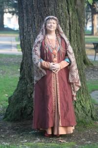 The Arnegunde costume