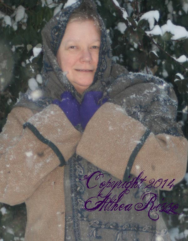Mama likes the snow!