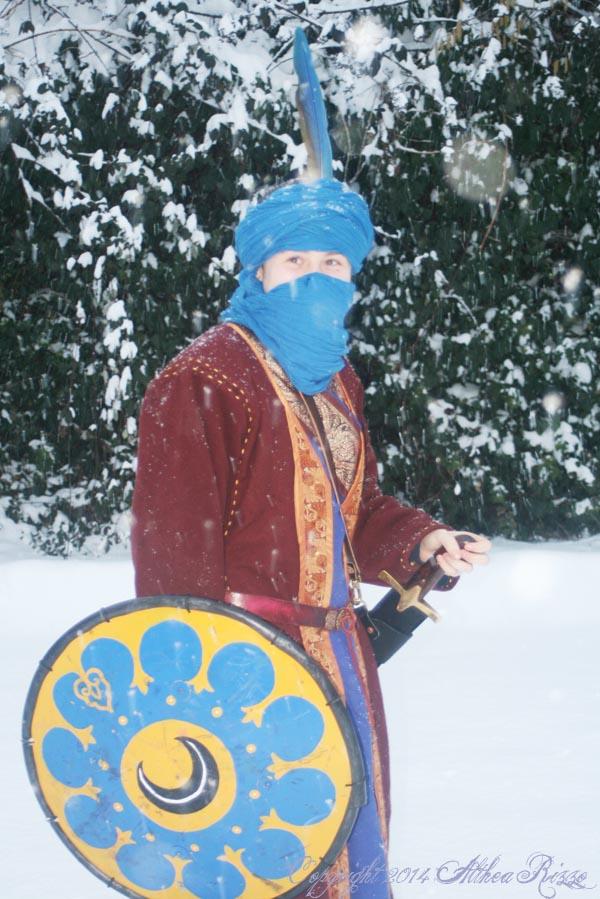Snowy Persian!