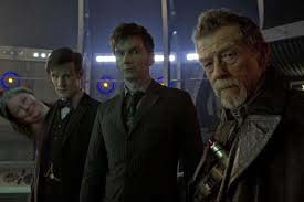 Althea photobombs the Doctor(s)...