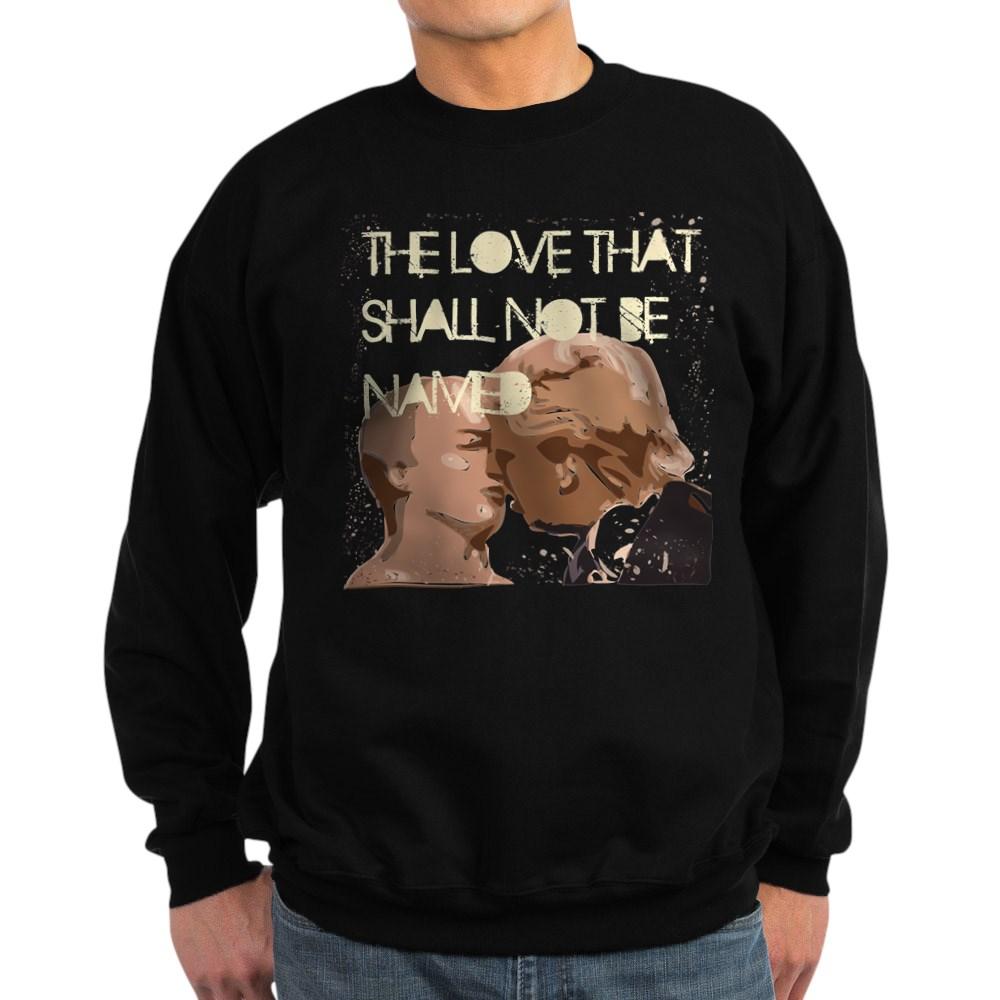 Trump Putin Kiss Bromance Men's Sweatshirt